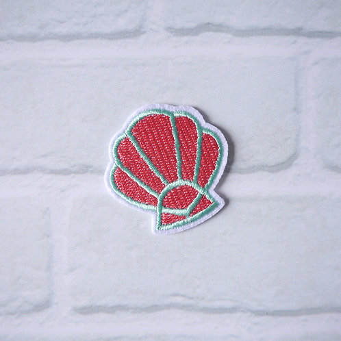 Patch Thermocollant Coquillage - Rose et Bleu