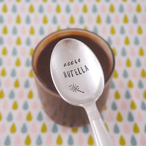 Petite Cuillère Métal Argenté - Accio Nutella