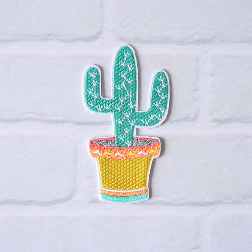 Patch thermocollant Cactus - Pot style Mexicain