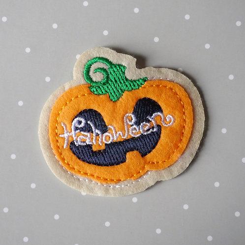 Patch thermocollant Citrouille - Ecusson Halloween