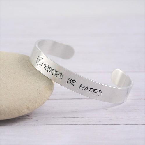 Bracelet Jonc - Donut Worry Be Happy
