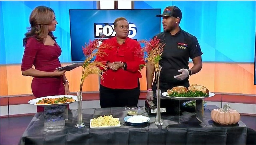 Chef Jojo on Fox 45