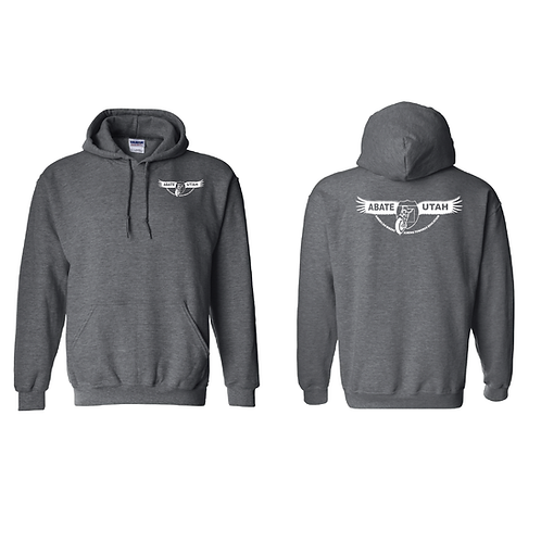 Screen Print Pullover Hoodies Small, Medium, Large, Extra Large - Black or Gray
