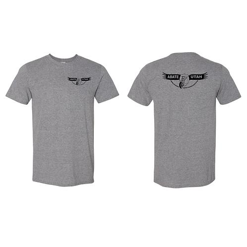 Screen Print Short Sleeve Tees XX-Large - Black or Gray