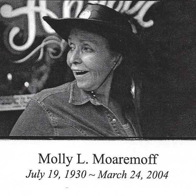Molly L Moaremoff 2004.jpg