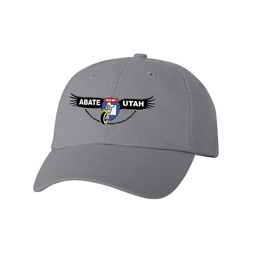 Embroidered Adjustable Hat - Black or Gray
