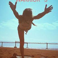 #yoga #warrior #sea #yogaatthesea #yogat