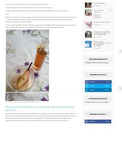 Valérie Cupillard - Recette de Poire pochée, mousse d'amandes et sirop de Romarin