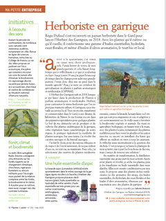 Plantes & Santé - Mai 2020 L'Herbier des Garrigues