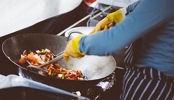 Wok de légumes sautés au romarin