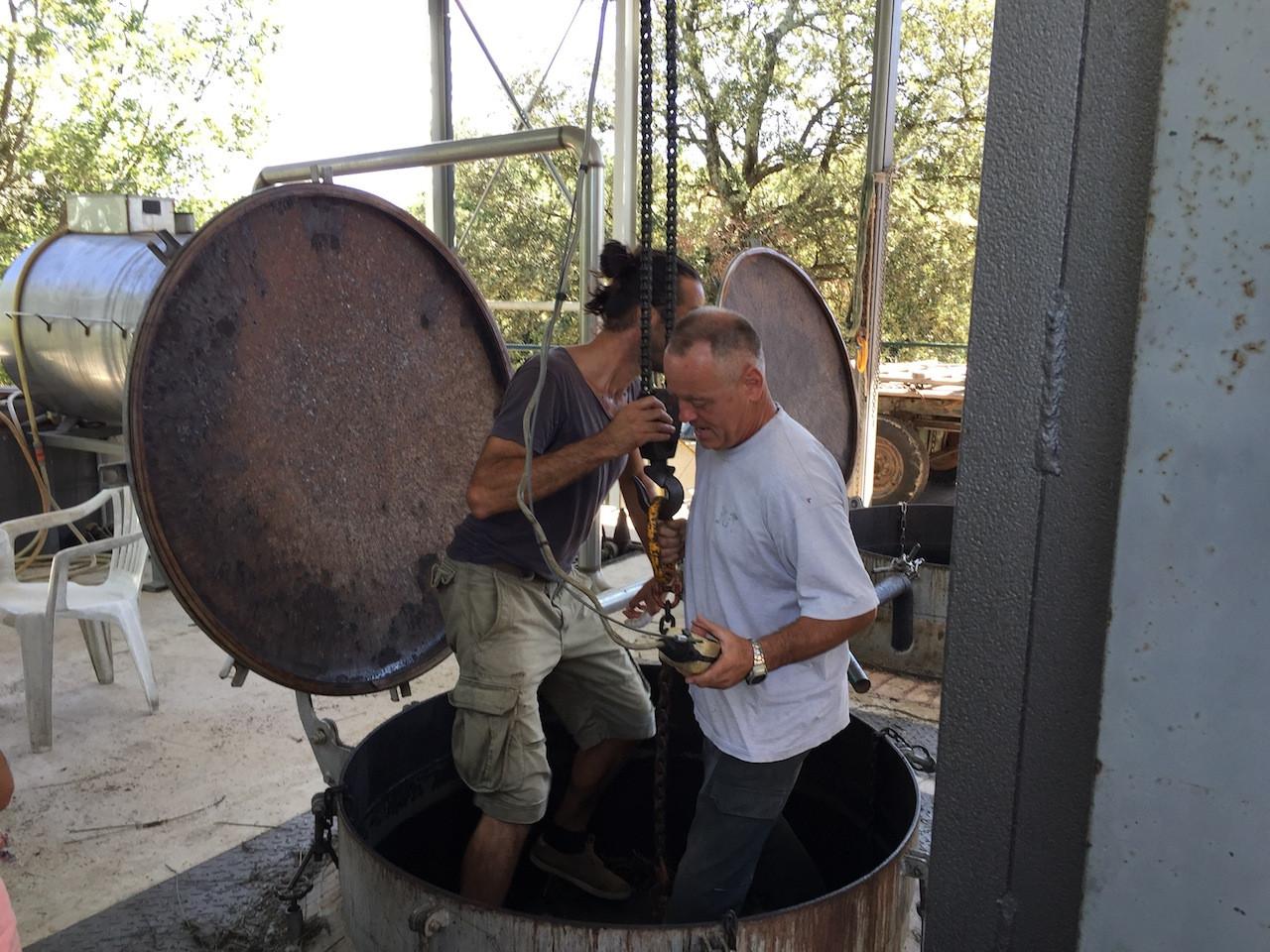 préparation du vase Lavandin.JPG