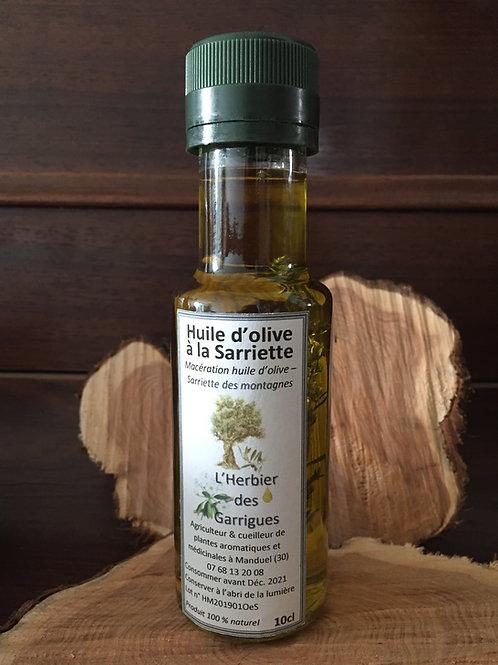 Huile d'olive à la Sarriette