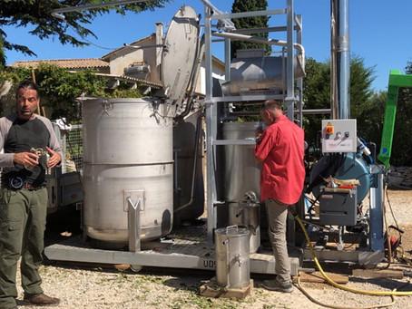 Week-end du 20 et 21 février 2021 : Inauguration et distillation de plantes à huiles essentielles