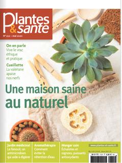 Plantes & Santé - Couverture Mai 2020