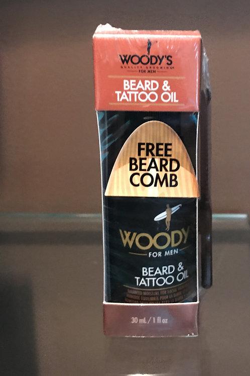 Beard& tattoo oil