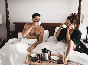 Breakfast in bed, spa package