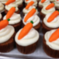 Carrot Cupcakes by Stone Werks Coffee and Sweets