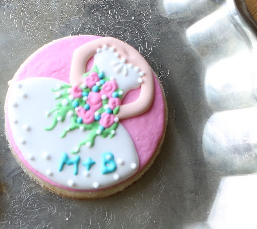 Sugar Cookie Bridal Themed