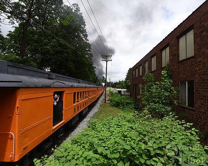 Arcade & Attica Railroad #18 northbound