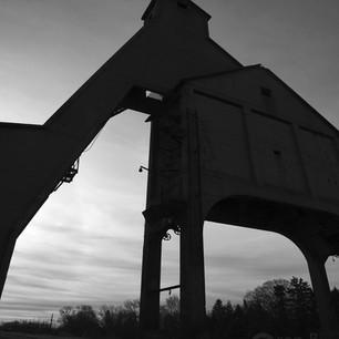 C. & N.W. coal tower, Dekalb, Illinois, April 2016