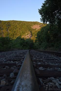 Water Gap railhead view 1