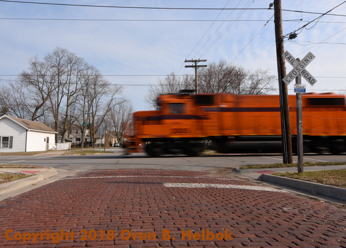 South Shore Freight eastbound