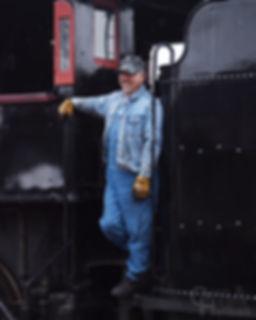 Dan Potts, Strasburg Rail Road engineer
