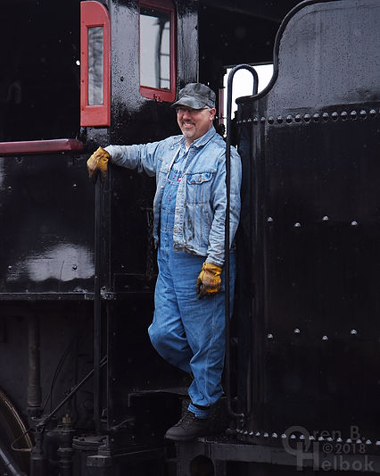 Dan Potts, Strasburg Rail Road engineer