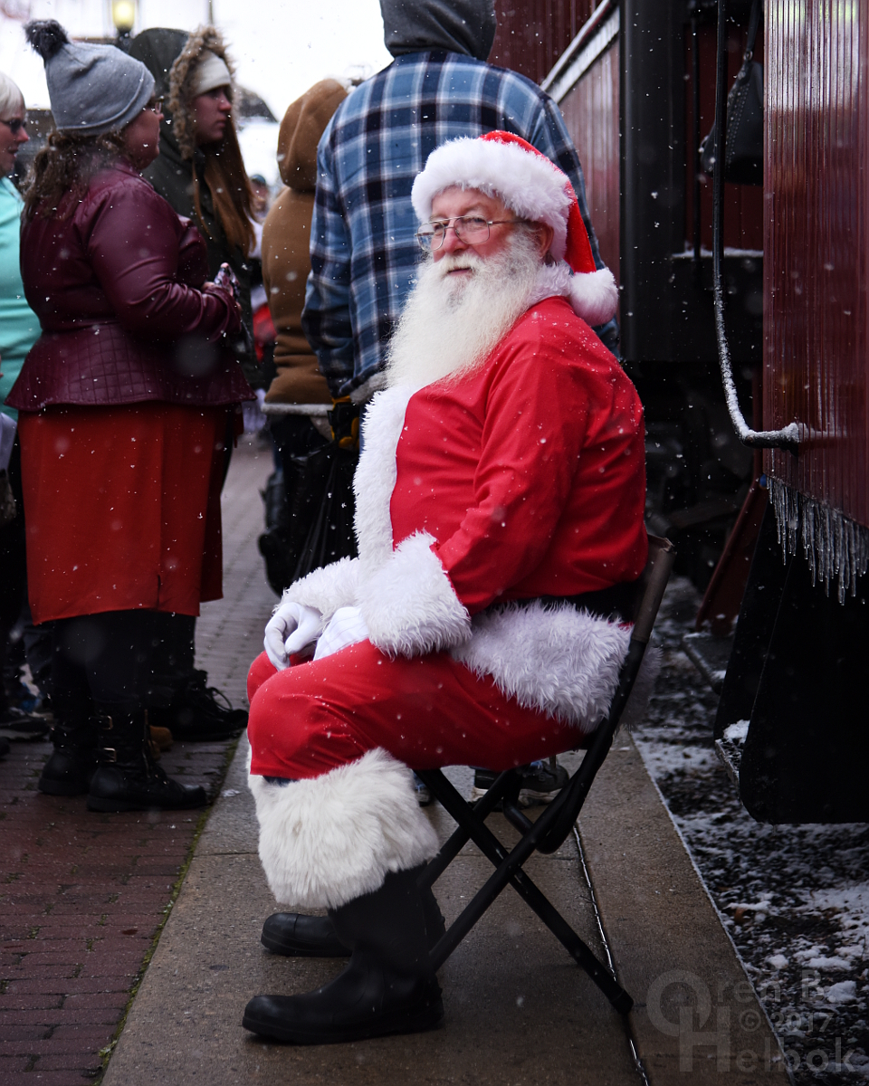 Santa Claus at East Strasburg