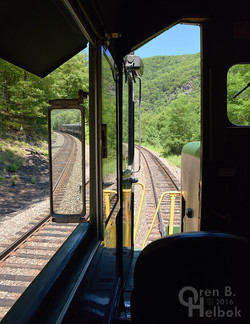 View forward from GP39RN