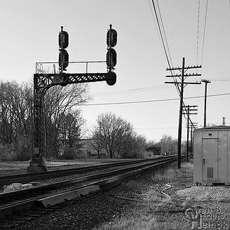Iron Triangle, Fostoria, Ohio, C&O signals, Oren B. Helbok photo