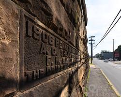 PRR arch bridge, Mount Union, Pa.