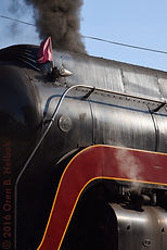 N&W 611, Norfolk & Western 611, Mothers Day, pink flags, Roanoke