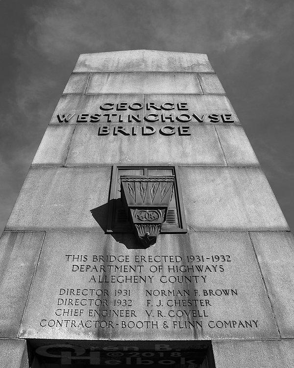 George Westinghouse Bridge, East Pittsburgh, Pa.