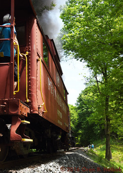 Caboose at Mill Street