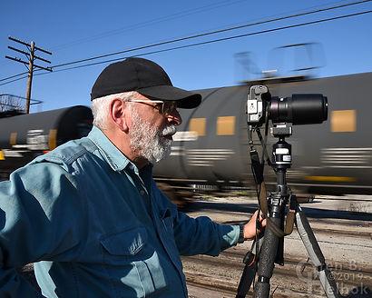 Iron Triangle, Fostoria, Ohio, George Hiotis, southbound CSX freight, Oren B. Helbok photo