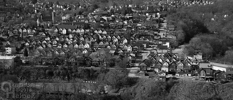 East Pittsburgh, Pa., as seen from North Versailles