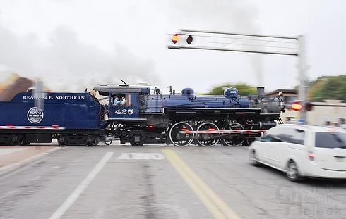 Reading & Northern #425 Pacific locomotive Tamaqua Pensylvania