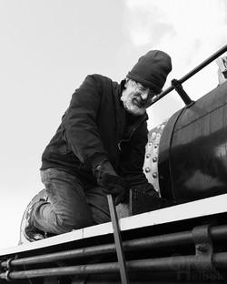 Rob Charles cranking lubricator