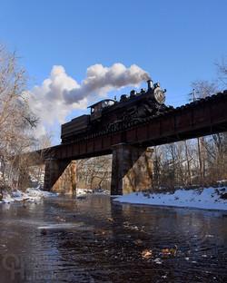 #40 crossing Ingram Creek, New Hope