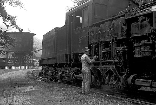 Artie Barkley, Cass Scenic Railroad