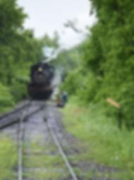 Arcade & Attica Railroad #18 at Curriers