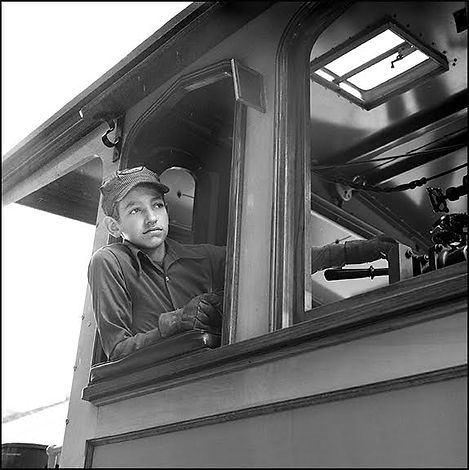 Kings Dominion steam engine, Oren B Helbok engineer