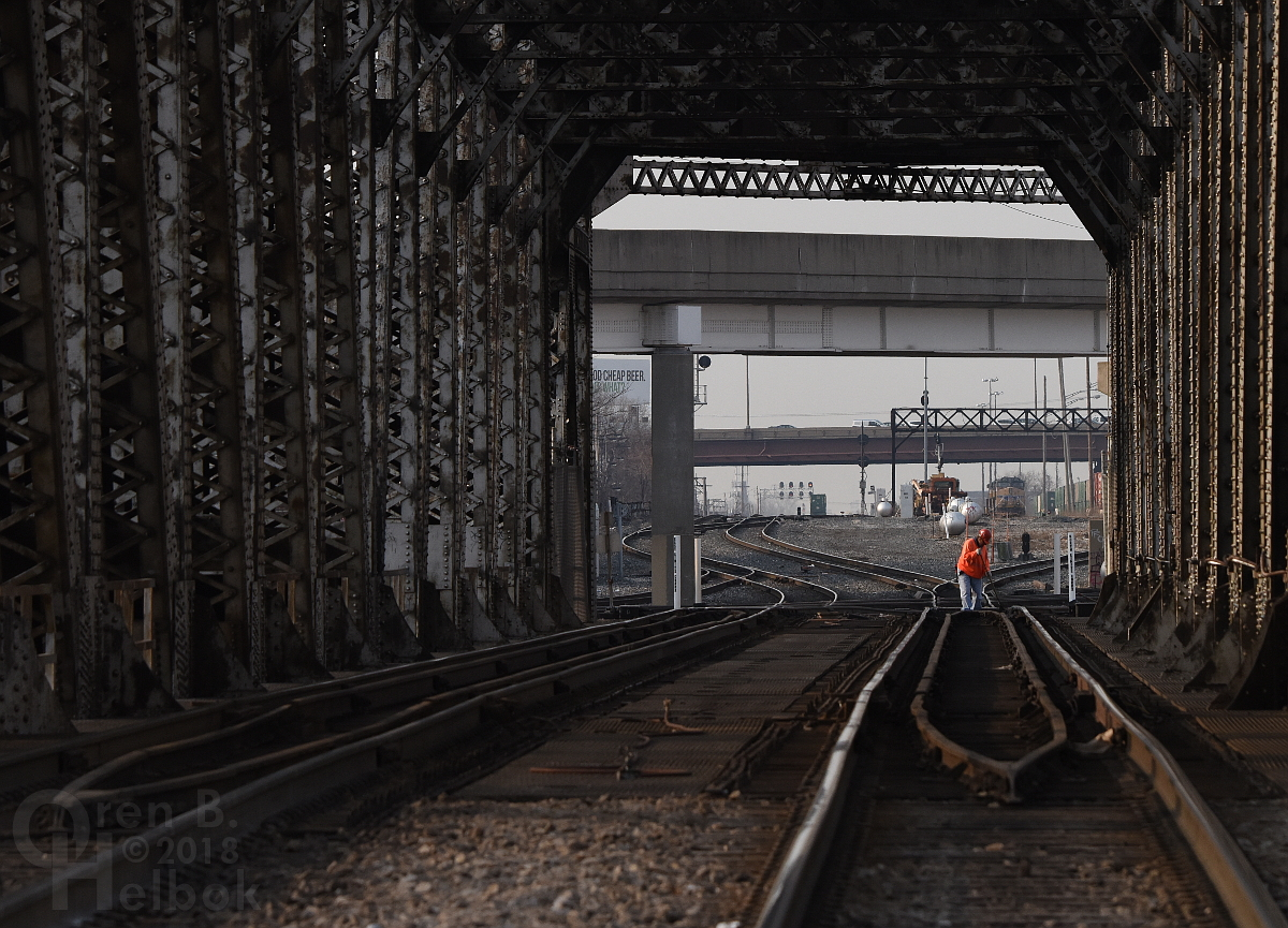 Amtrak maintainer at 21st Street