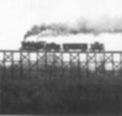 James Gallagher Maryland & Pennsylvania trestle silhouette