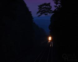 The Broad Way at dusk