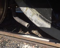 425's leaking sander at Jim Thorpe