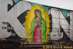KING graffiti westbound