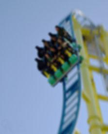 Knoebels Impulse roller coaster