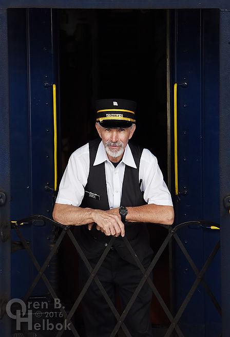 Wilmington & Western Railroad volunteer trainman John McCloskey